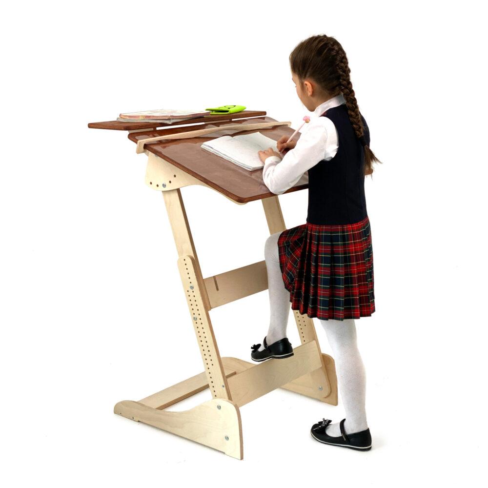 Конторка «Ладная» для учебы стоя на рост 100-160 см