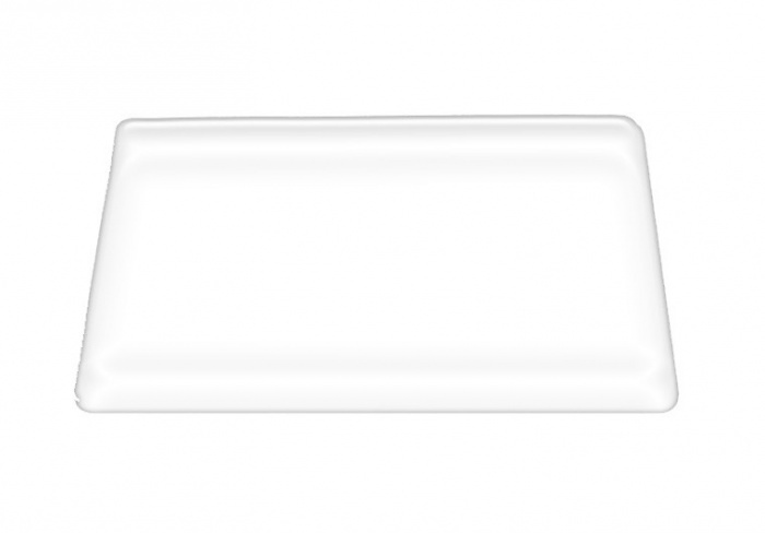 Защитная противоскользящая накладка 70х50 см прозрачная