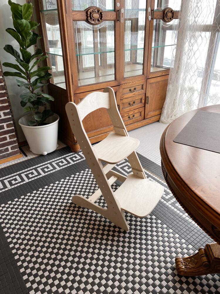 Растущий стул для детей «Компаньон» прозрачное масло с воском