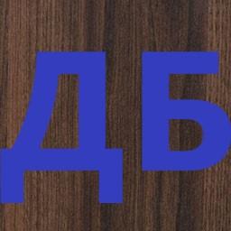 1.1 Стол Добрыня (основа), темный орех