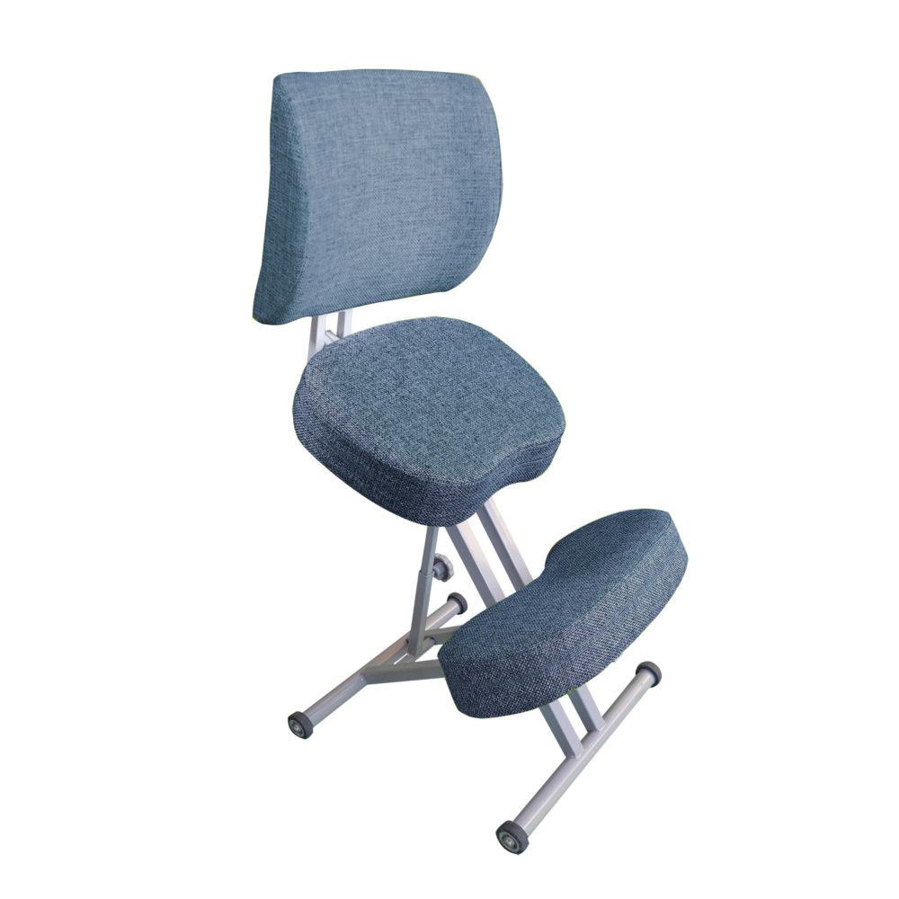 Коленный стул «Олимп» со спинкой