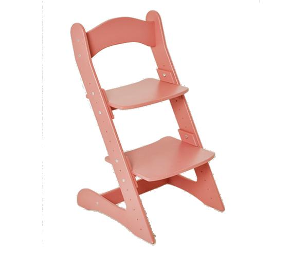 Растущий стул для детей «Компаньон» светло-розовый