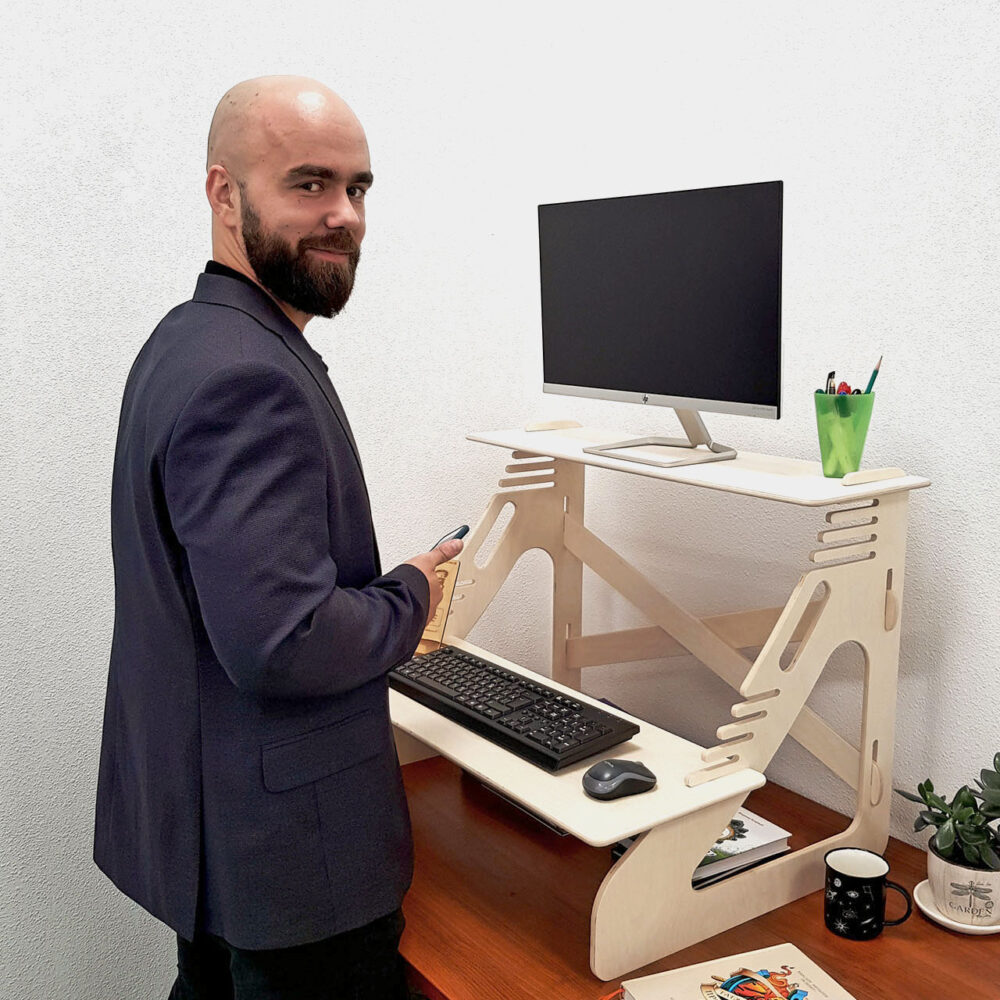 Стойка для монитора и ноутбука