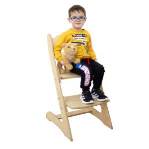 "Растущий стул для детей ""Компаньон"" без шлифовки, под покраску"