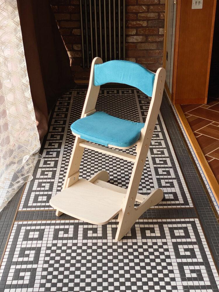 Растущий стул для детей «Компаньон» с комплектом подушек