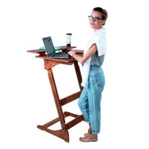 """Высокий стол """"Добрыня"""" для работы и учебы стоя, на рост 150-190 см"""