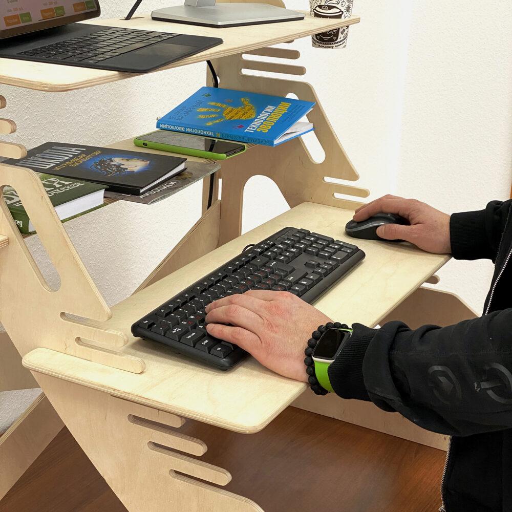 Столик для ноутбука и монитора XXL