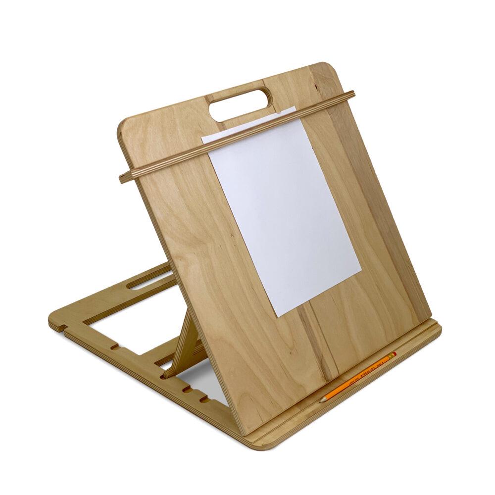 Настольный мольберт планшет для рисования А3, цвет Прозрачное масло