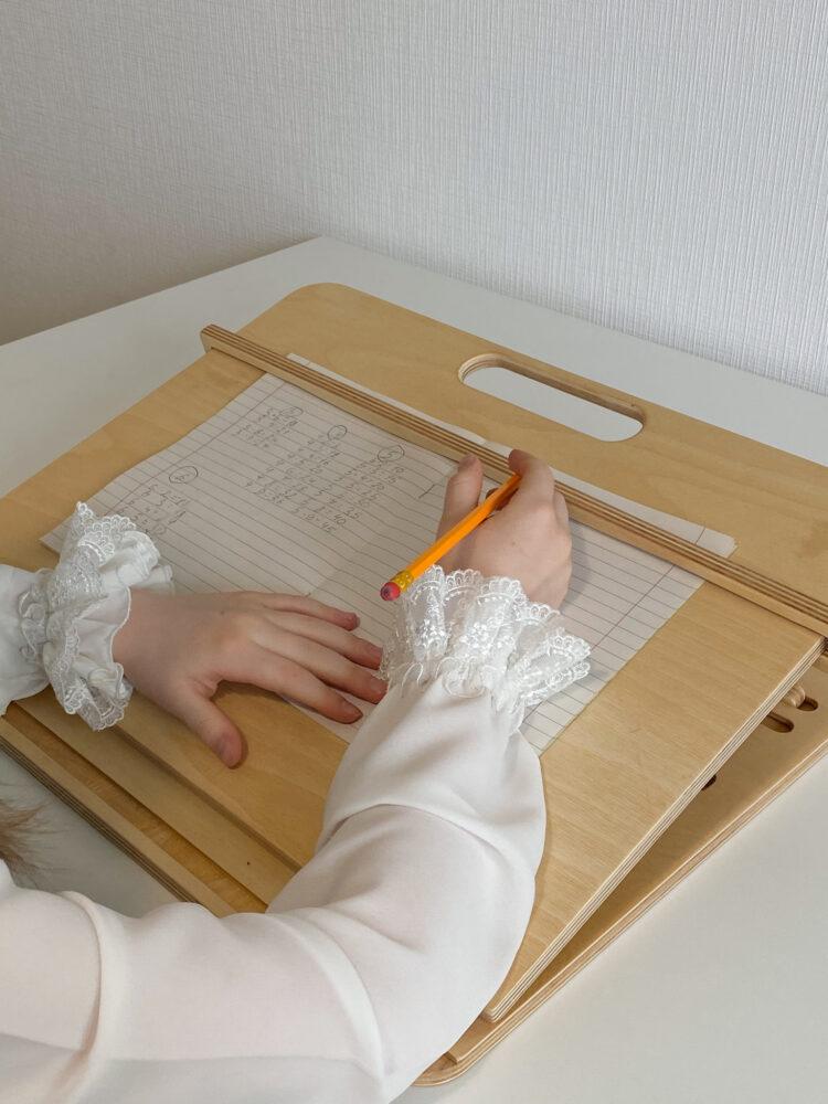 Настольный планшет для каллиграфии и учебы, Прозрачное масло