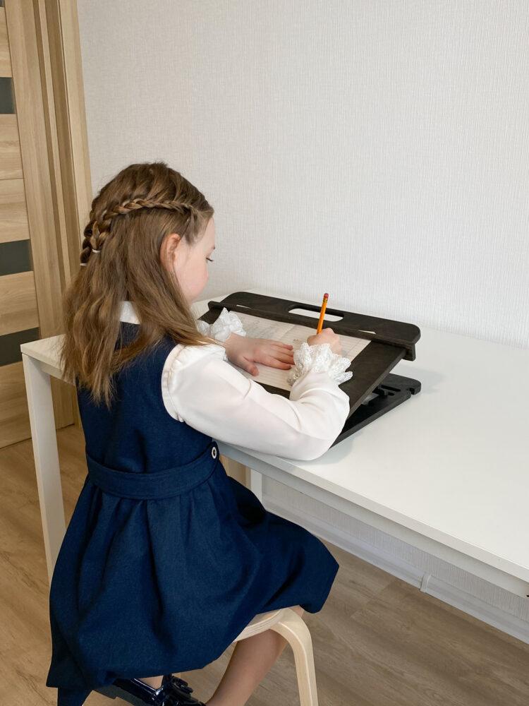 Настольный планшет для каллиграфии и учебы, Черный венге