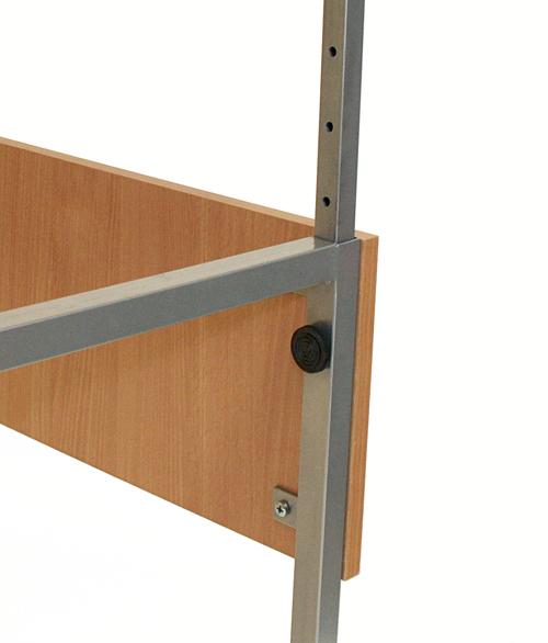 Высокий стол с механической регулировкой высоты EMS120