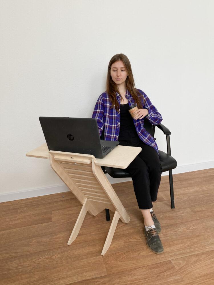 UP DESK — подставка для ноутбука для работы стоя