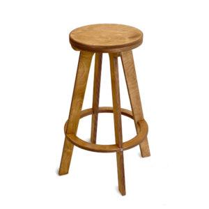 Высокий стул табурет, золотой дуб