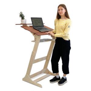 Высокий стол Хронос XL для реабилитации после перелома позвоночника на рост 115-200 см