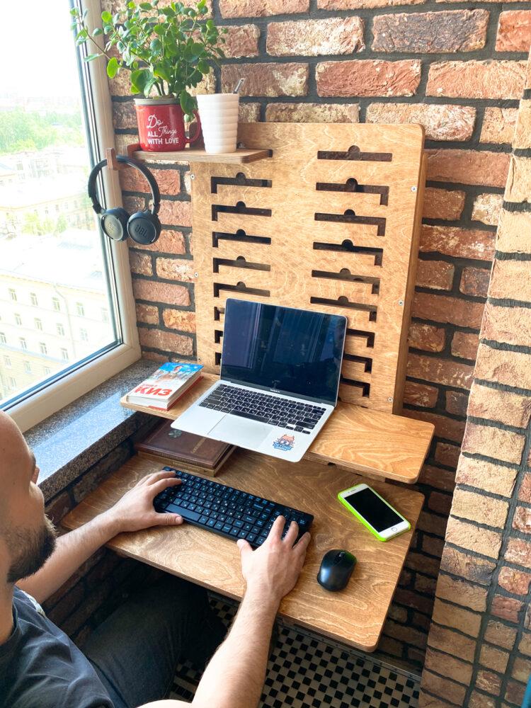 Настенный стол для ноутбука Up Wall 7 in 1