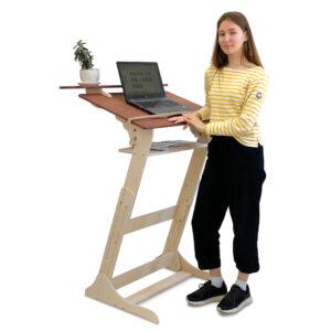 """Стол конторка """"Хронос XL"""" для работы стоя и сидя на рост 115-200 см"""
