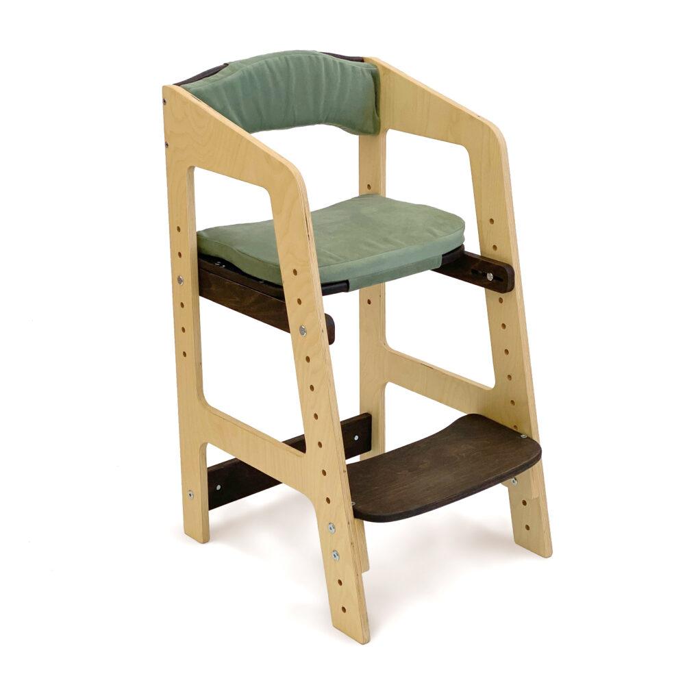 Растущий стульчик «Непоседа» для детей от 1 года до 10 лет с комплектом подушек