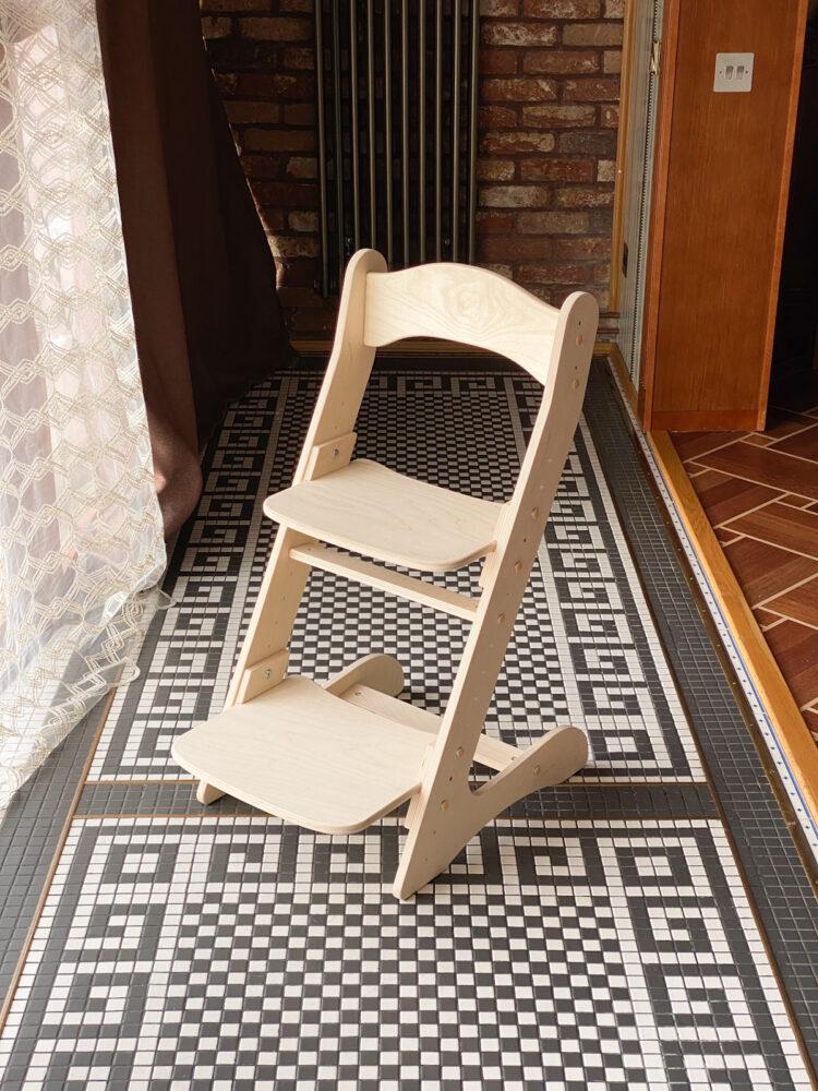 Комплект для школьника: растущая парта + стул, цвет Золотой дуб