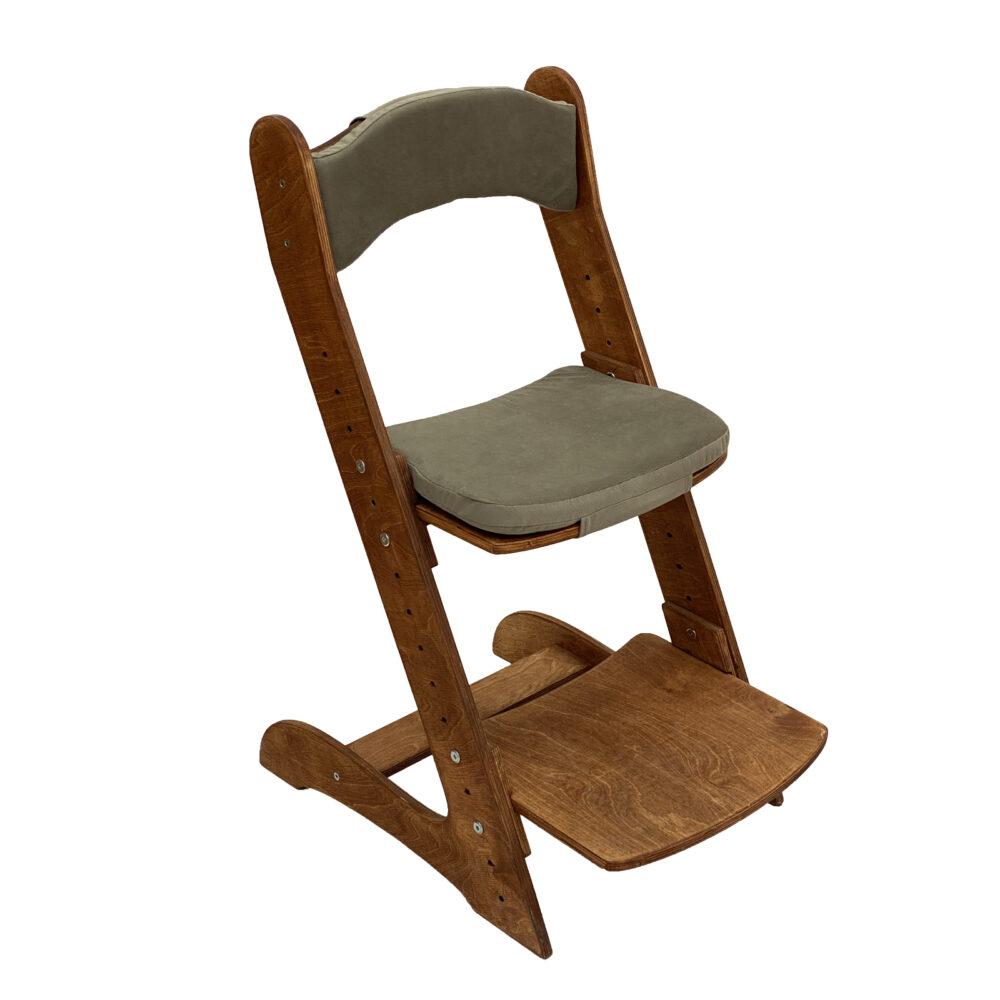 Растущий стул для детей «Компаньон» светлый орех с комплектом подушек Mika