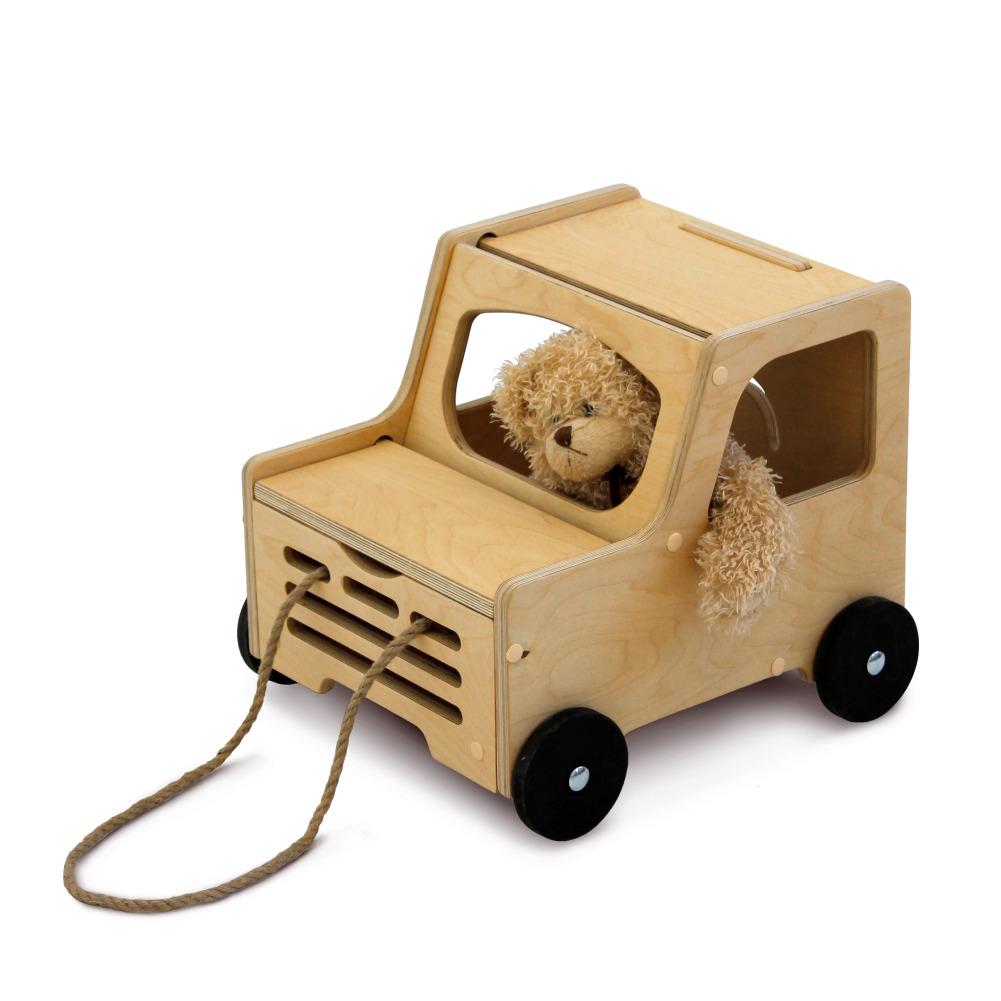 Деревянная игрушка Машинка
