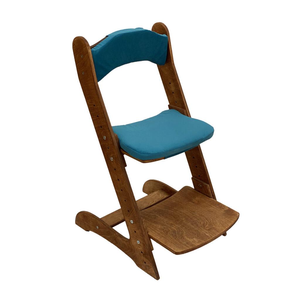 Растущий стул для детей «Компаньон» светлый орех с комплектом подушек Lagoon