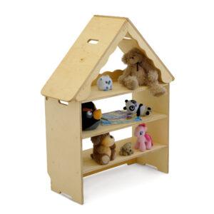 Стеллаж для игрушек Домик