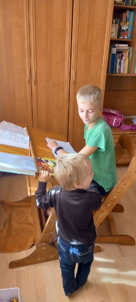Конторка «Хронос» для учебы стоя и сидя на рост 100-170 см